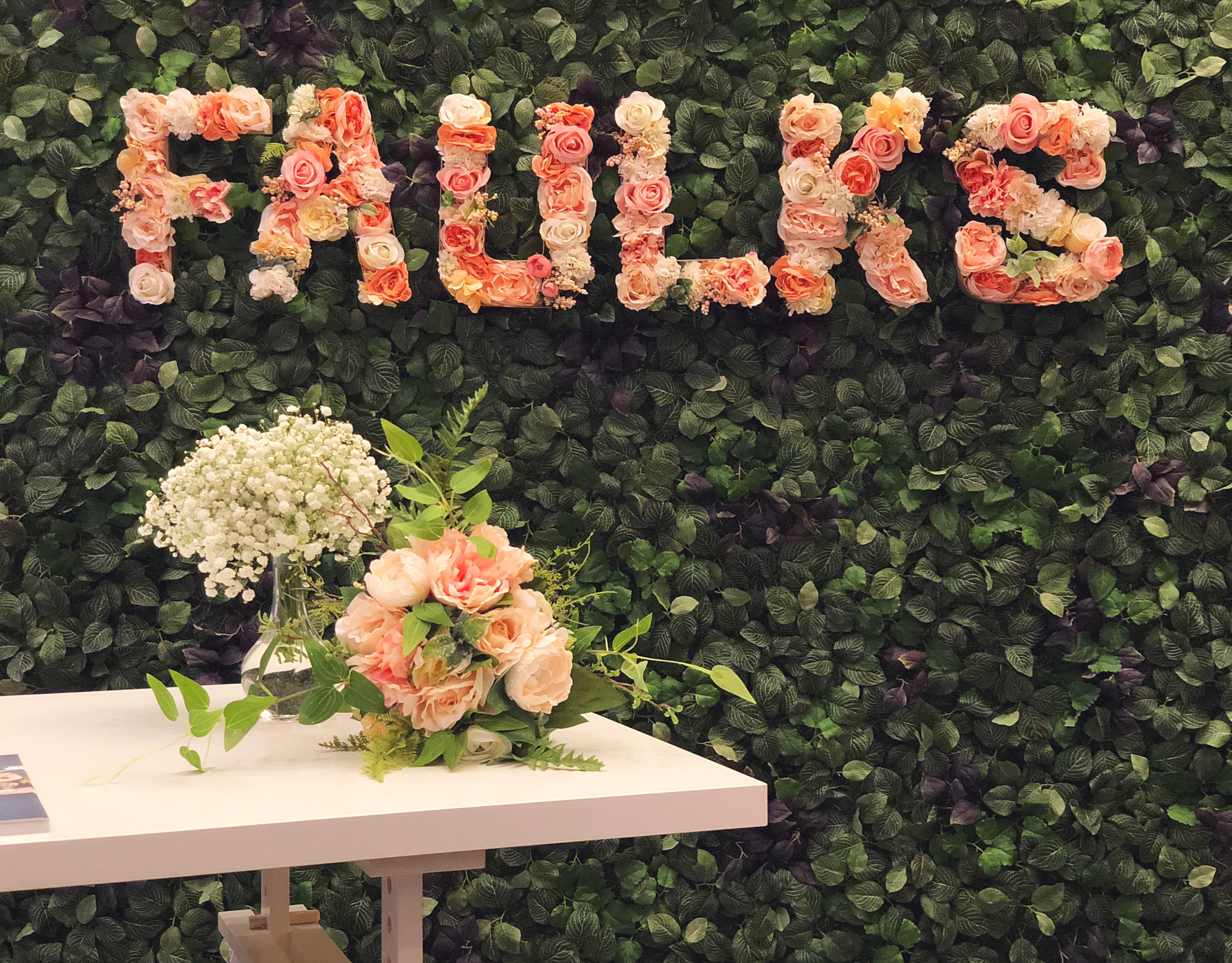 Faulks Floral Co at the Polaris Bridal Expo