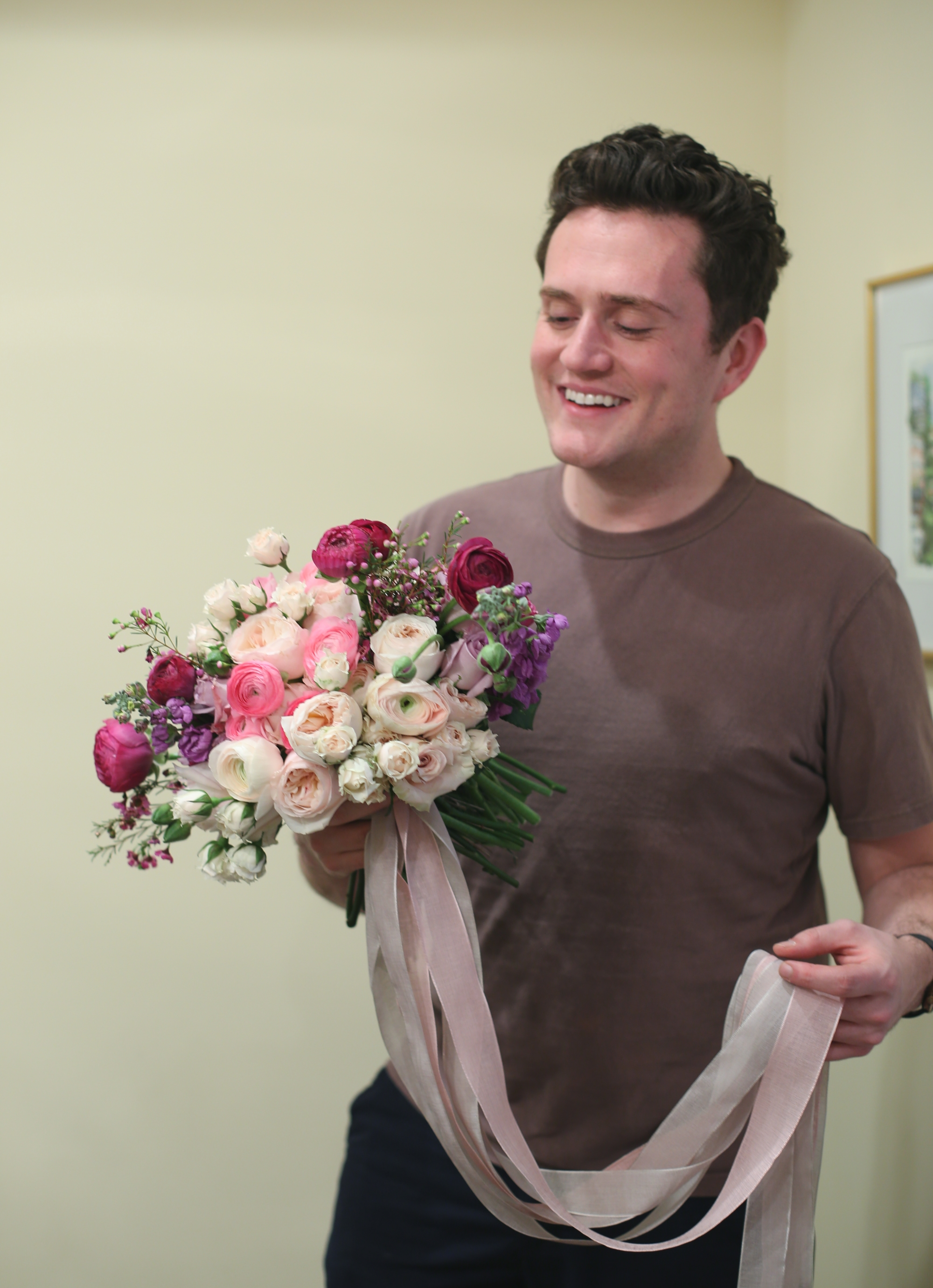 Bridal Bouquet crafted by Jonathan Faulks
