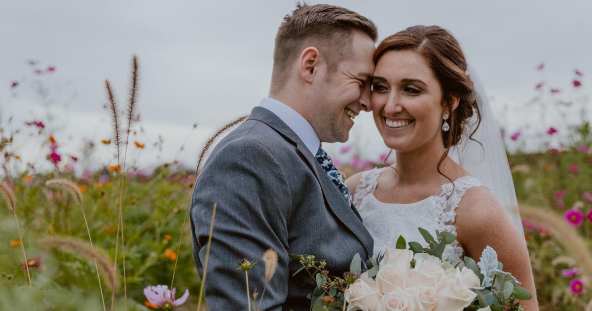 Custom Bridal Bouquet by Faulks Floral Co