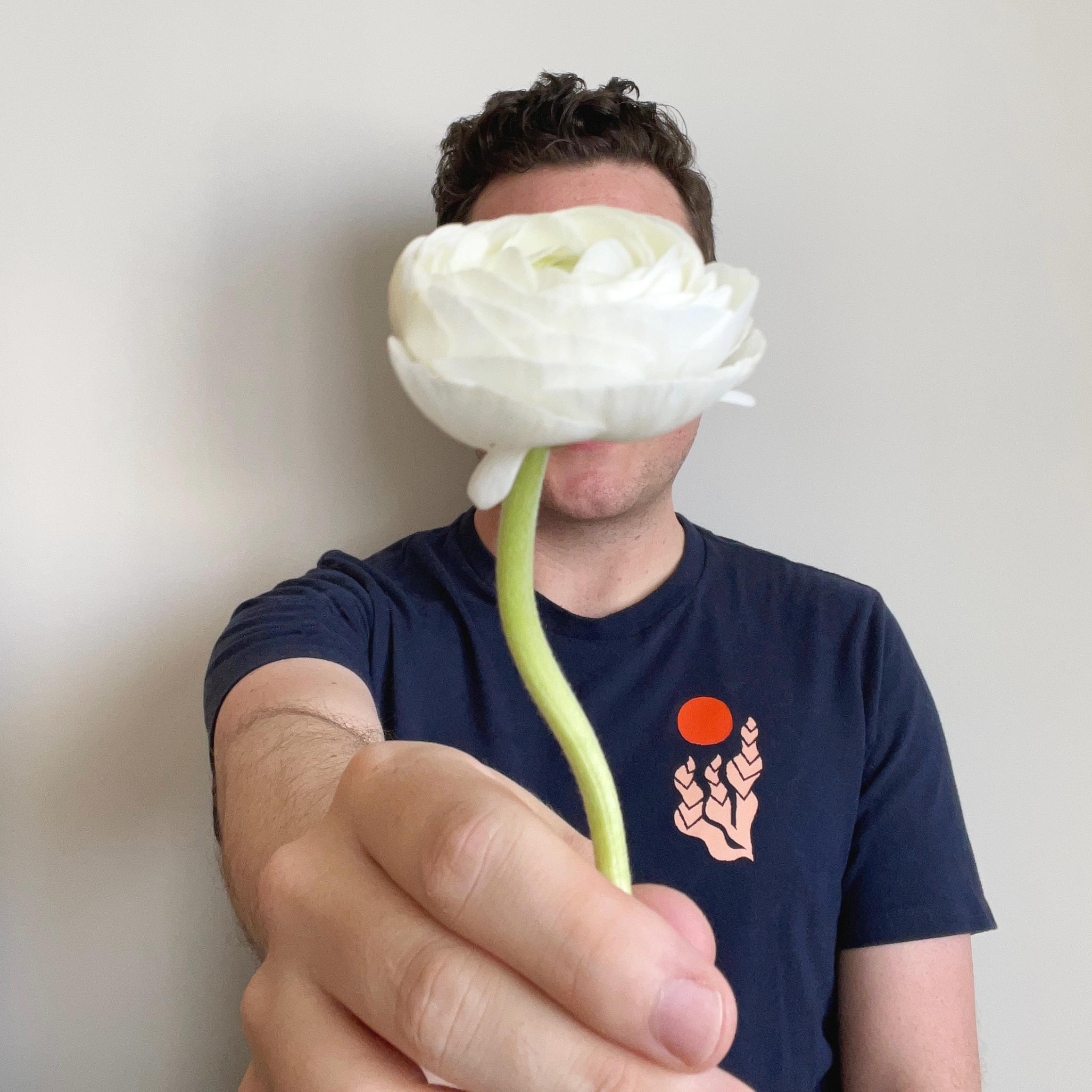 Jonathan Faulks owner and lead floral designer.