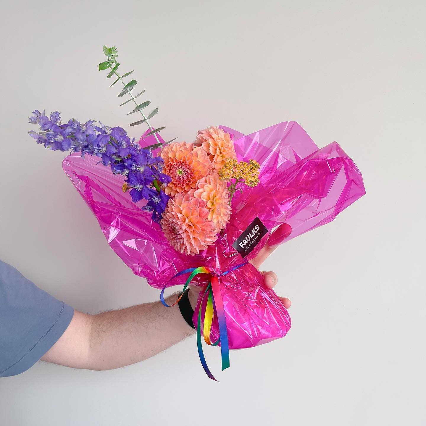 Pride Wrapped Bouquet